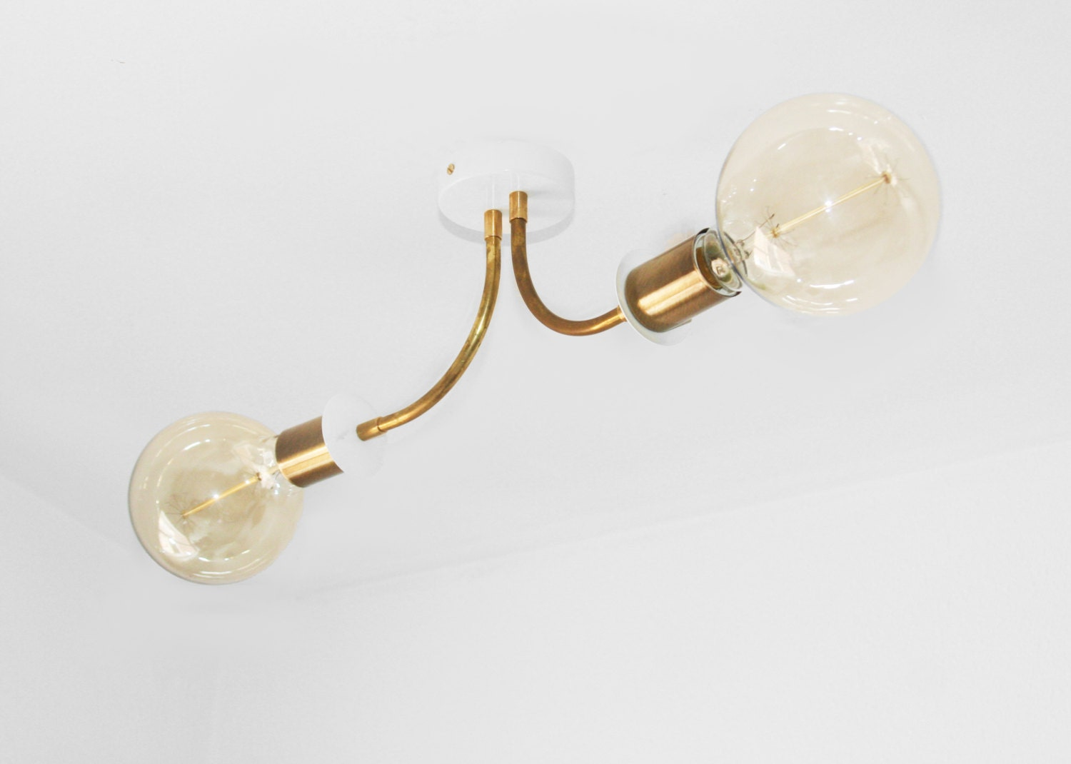 Mid century modern ceiling light - Ceiling Mounted Light Fixture ...