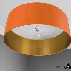 Large Lamp Shade Drum Ceiling Lightshade Extra Large Drum Etsy