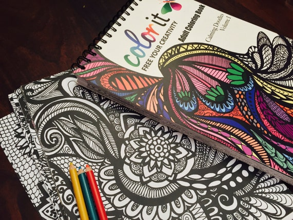 50 Original Doodles To Color Calming Volume 1 By