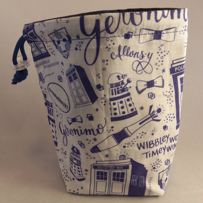 Who Reversible Dice Bag Dr