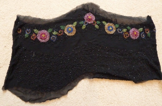 Vintage Bead Work from 1920's dress? -- - image 1