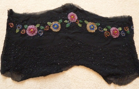 Vintage Bead Work from 1920's dress? -- - image 3