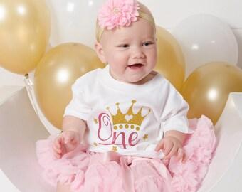 One Birthday Shirt - Baby First Birthday - 1st Birthday Outfit - First Birthday Shirt - 1st Birthday Shirt - 1st Birthday Party