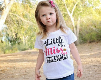 3rd Birthday Shirt - Birthday Girl - 3rd Birthday Outfit - Three Shirt - Third Birthday Gift - 3rd Birthday Party