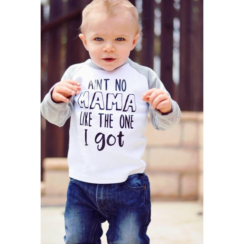 099fe5c3 Aint No Mama Shirt Mother Son Shirt Me & Mama Mom Son | Etsy