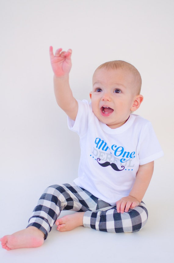 Boys First Birthday One Boy Shirt 1st