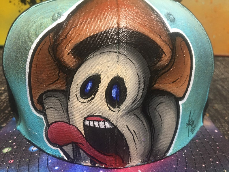 Screaming mushroom SnapBack