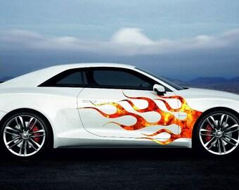Car Side Graphics Etsy