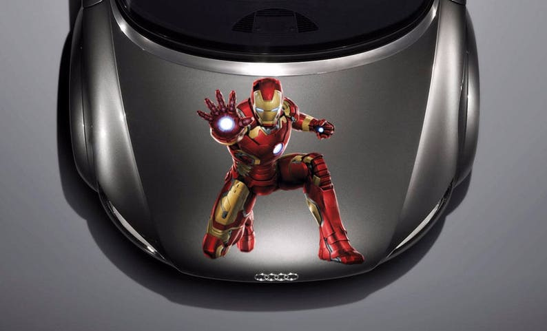 Amazon Com A Design World Decals For Cars Marvel Comics Avengers Team Hulk Iron Man Vinyl Decal Truck Car Sticker Laptop Home Kitchen