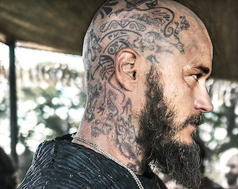 Image result for vikings show floki  character with Tattoos