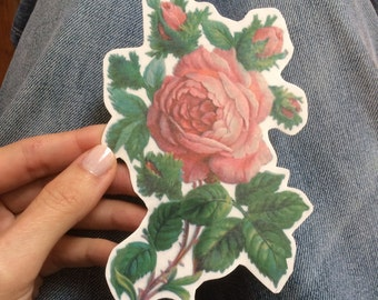 2162c2bb3 Rose Temporary Tattoo. Big Floral Tattoo, available in small, medium and  large size