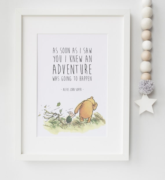 Winnie The Pooh Lexis Little Prints