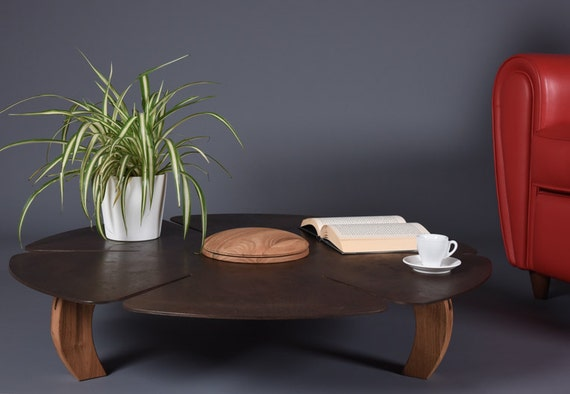 Round Coffee Table Low 2