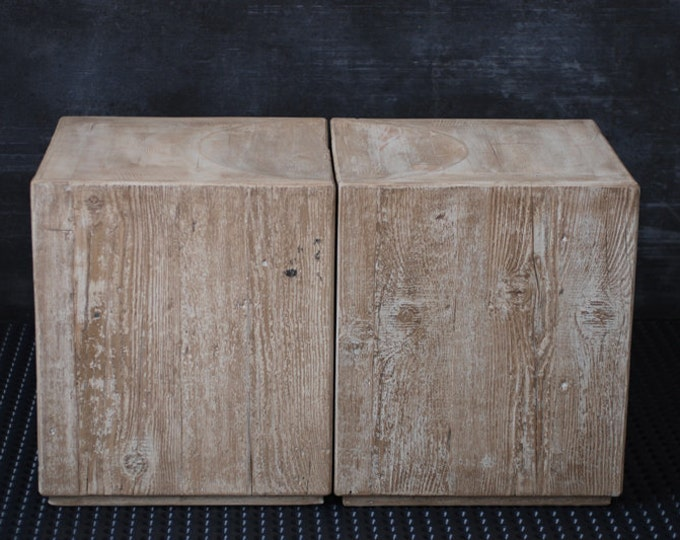 Coffee Table Reclaimed Solid Wood Ready to ship