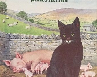 Moses the Kitten book, James Herriot book, Classic Children's book, Vintage Children's Book, 1970's Children's Book, Collectible Book