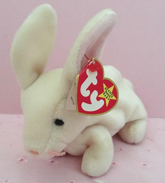 Ty Nibbler Beanie Baby Easter Beanie Baby Rabbit Beanie  521c9c93a51b