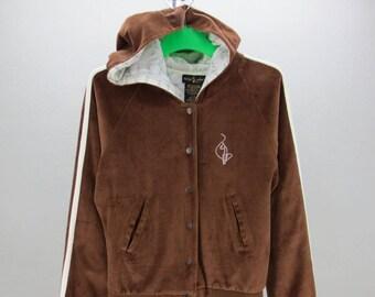 b2fc4b805f5a Baby Phat Jacket Women Size M/L Baby Phat Velvet Jacket Womens Hip Hop  Jacket