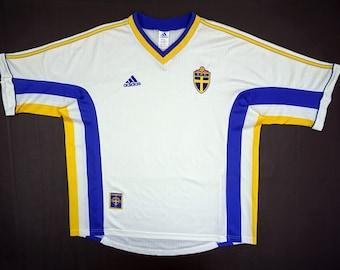 best website 50a0f 4e4a9 Sweden soccer jersey   Etsy