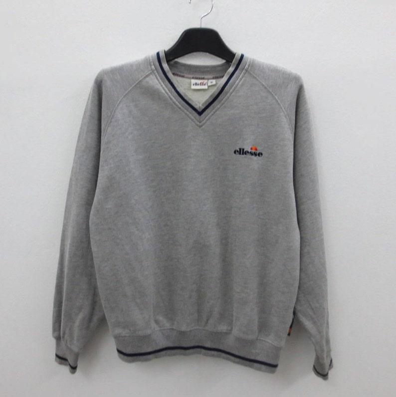 9b5c177b Ellesse Sweatshirt Men Size S/M Ellesse Pullover Casual Grey Jumper
