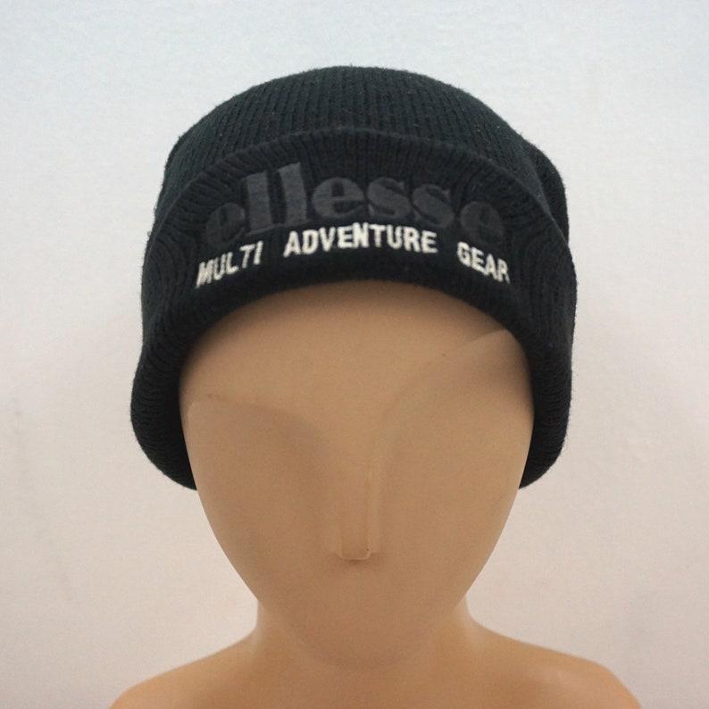 2a4c3b08d71 Ellesse Vintage Hat Size L Vintage Ellesse Beanie Hat Made in