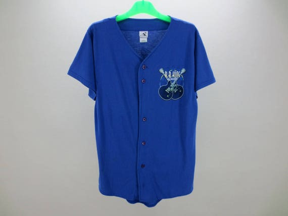 BB King chemise pour homme taille M ~ Jersey Vintage BB King ~ BB King Lucille Augusta Baseball Jersey