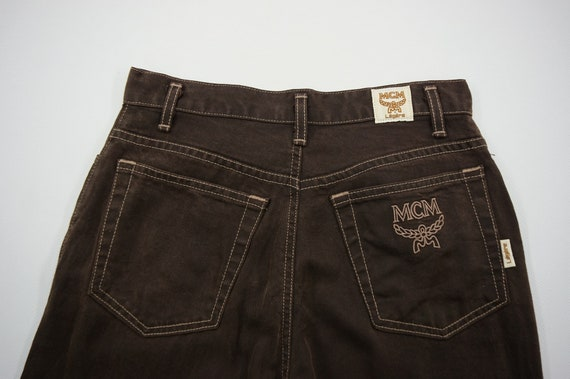 Mcm Pants Size W27x L30 90s Mcm Legere Cupra Pants Vintage Casual Pants Made In Japan by Etsy