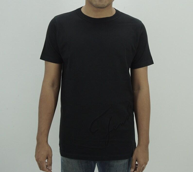 9f46341f5 Fendi Shirt Men Size S Fendi Maglia T Shirt Designer Black T | Etsy