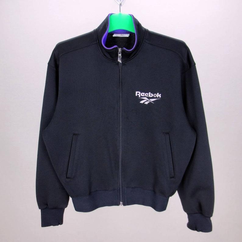 b3525d2dfcf11 Reebok Vintage Jacket Women Size M/L 90s Reebok Track Jacket Vintage Track  Top