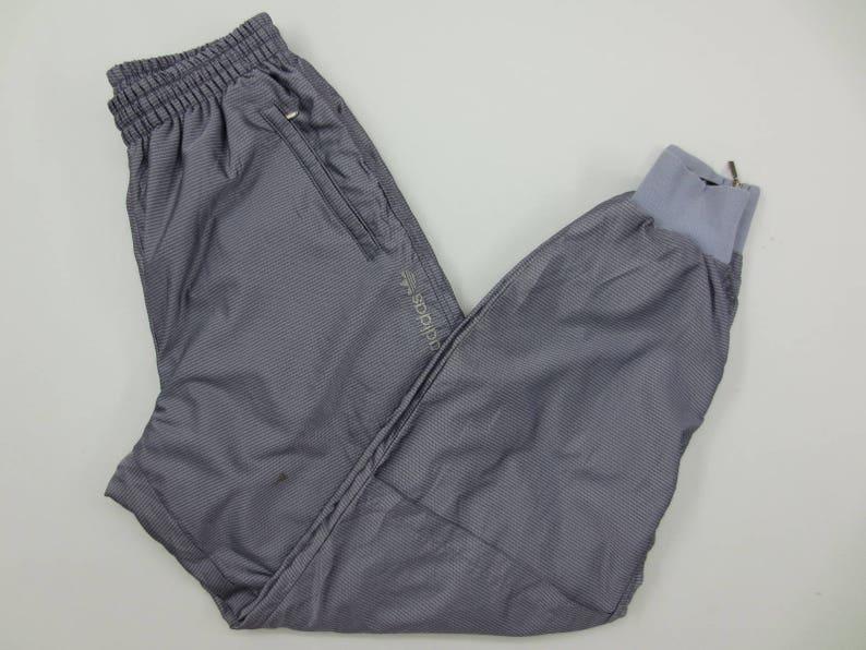 Adidas Pants ~ Size L ~ W25 35xL30 ~ 90s Adidas Track Pants ~ Adidas Vintage Track Bottom