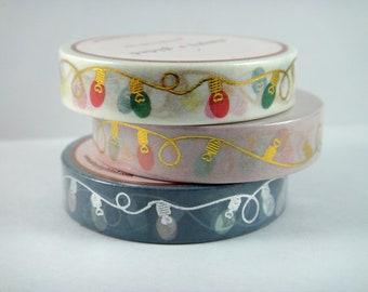 Washi Tape Sample - Simply Gilded Washi - Christmas Washi