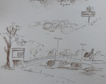 """Sketch """" The Journey of Vannes"""""""
