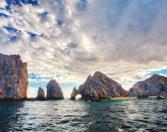 El Arco Cabo San Lucas photo – Lands End arch – Cabo ocean photograph – Baja Mexico beach – Vacation souvenir photo art – Mexico travel gift