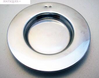 Rare Austro-Hungarian (c1900) Solid Silver Antique ARMADA DISH Bon Bon/Pin/Trinket/Sweetmeat Bowl. Austria/Hungary.