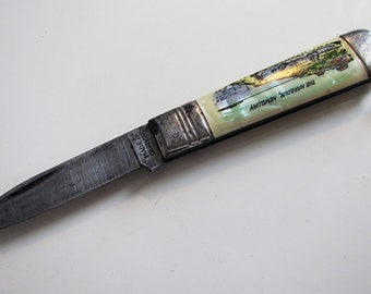 Folding Pocket Pen Knife
