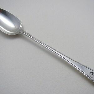 Gorham Old London Plain Teaspoon Monogrammed Sterling Silver Flatware