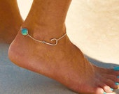Personalized Fish Hook Anklet, Fishing Gift, Fishing Jewelry, Christian Gift, Custom Baptism Gift