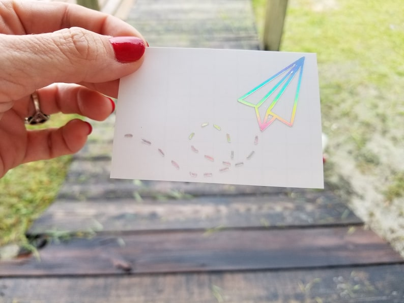 Paper Airplane Decal Fun Laptop Decal Paper Airplanes image 0