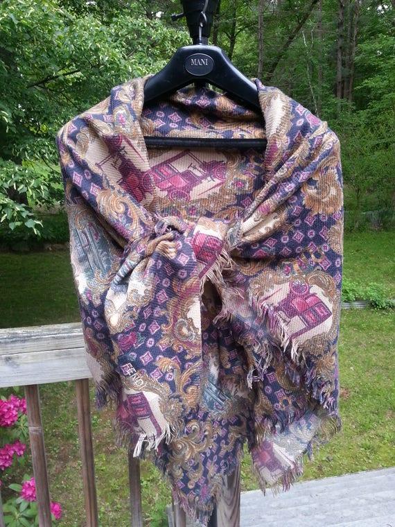 Fendi Scarf womens scarf Fendi shawl womens shawl vintage  f594e9376