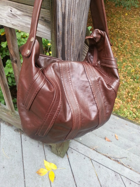 Renato Angi, handbag,  brown handbag, leather hand