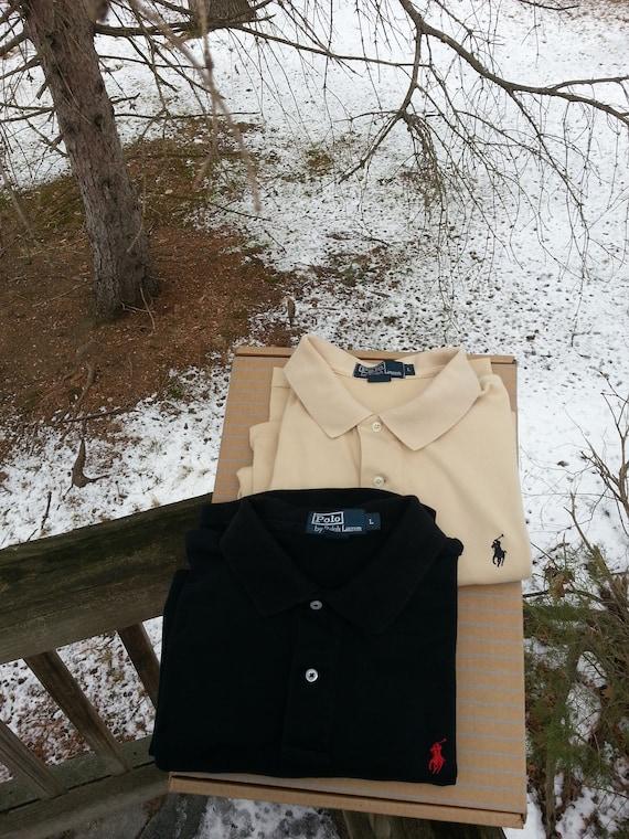 Ralph Lauren,2, polo shirts, size L, golf shirts,… - image 4