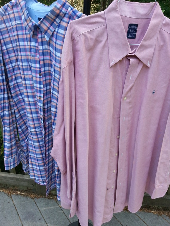 Brooks Brothers, Cutter & Buck, 3XL, 2 shirts,xxxl