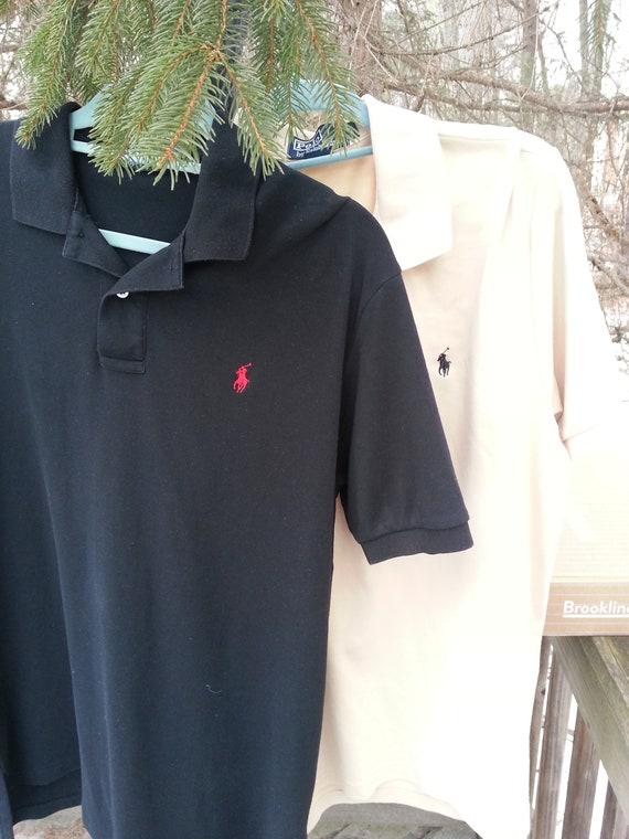 Ralph Lauren,2, polo shirts, size L, golf shirts,… - image 3