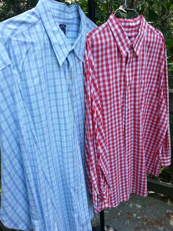 Brooks Brothers,3XL,2 shirts, men's shirt, mens cl