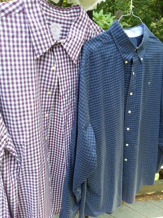 Brooks Brothers,2 XL, 2 shirts, mens shirts, mens