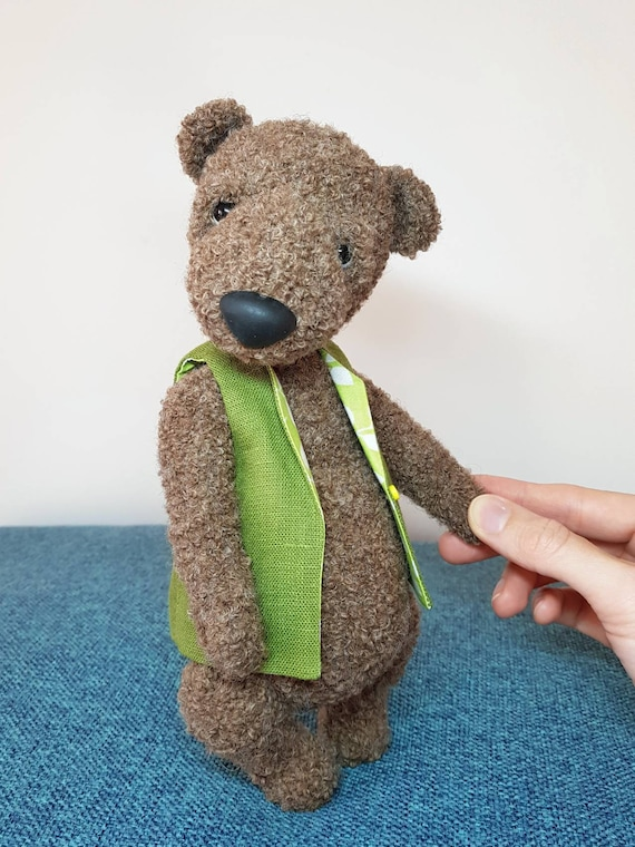 The Knitted Teddy Bear: Make Your Own Heirloom Toys, with Dozens ... | 760x570