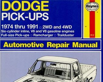 dodge spirit repair manual free