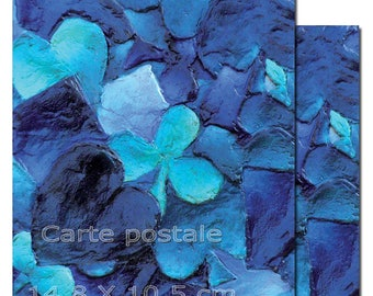 2 postcards from a painting of Lilium Lilith