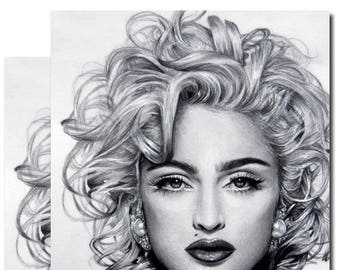 2 postcards. Madonna, after a drawing of Lilium Lilith