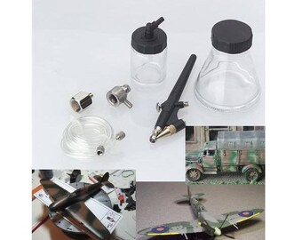 Mini Airbrush Kit, Ideal For Crafts, Arts Hobbies And Model Airbrushing, (Air Brush) AT033