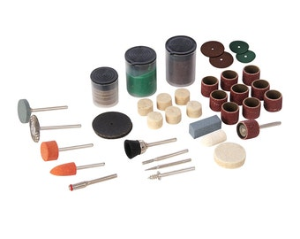 105PC Hobby Sanding Cutting Grinding Polishing Cleaning Bit Set, Suit Most Rotary Tool, / Mini Drill